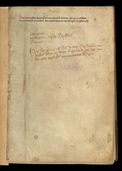 Flyleaf Inscription, In A Volume Of The Works Of John Of Salisbury